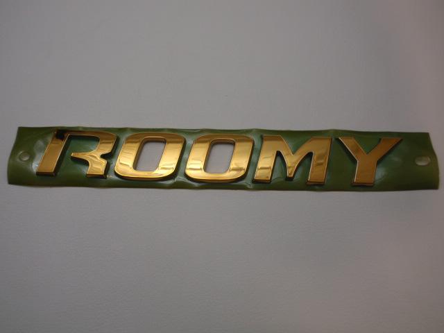 ◇TOYOTA ROOMY ゴールドエンブレム