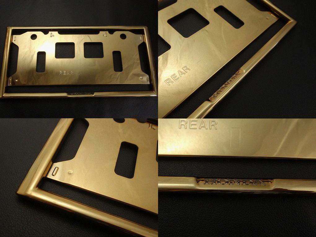 ◇ホンダ(HONDA)ゴールドナンバーフレーム!
