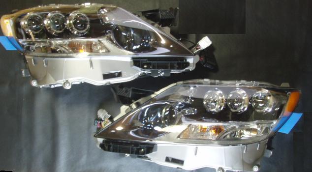 LS460用 LS600LEDヘッドライト変換取付けキット!